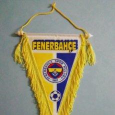 Coleccionismo deportivo: BANDERIN FENERBAHCE SPOR KULUBU DE TURQUÍA. Lote 202591863