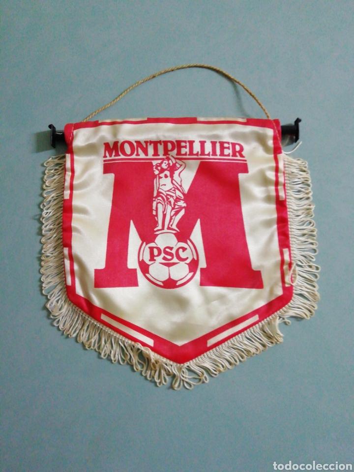 BANDERIN PSC MONTPELLIER DE FRANCIA (Coleccionismo Deportivo - Banderas y Banderines de Fútbol)