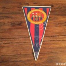 Coleccionismo deportivo: BANDERIN FUTBOL CLUB BARCELONA BARÇA PEÑA BARCELONISTA DE MADRID. Lote 203581133