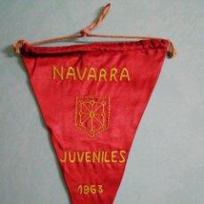 Collectionnisme sportif: BANDERIN FEDERACIÓN DE FUTBOL DE NAVARRA. Lote 204067750