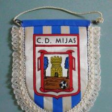 Collectionnisme sportif: BANDERIN C. D. MIJAS - MIJAS (MÁLAGA). Lote 204327311