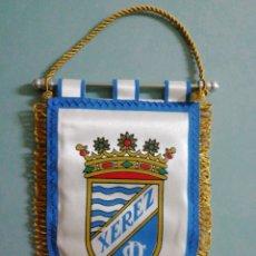 Collezionismo sportivo: BANDERIN XEREZ C. D. - JEREZ DE LA FRONTERA (CÁDIZ). Lote 204331170