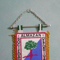 Collectionnisme sportif: BANDERIN S. D. ALMAZAN - ALMAZAN (SORIA). Lote 204391502