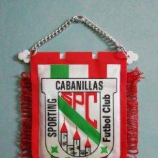 Collectionnisme sportif: BANDERIN SPORTING CABANILLAS F. C. - CABANILLAS DEL CAMPO (GUADALAJARA). Lote 204403558