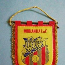 Collectionnisme sportif: BANDERIN MINGLANILLA C. F. - MINGLANILLA (CUENCA). Lote 204406002