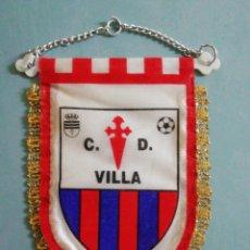 Collectionnisme sportif: BANDERIN C. D. VILLA - VILLA DE DON FADRIQUE (TOLEDO). Lote 204408501