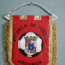 Collectionnisme sportif: BANDERIN E. F. ARGANDA - ARGANDA (MADRID). Lote 204817943