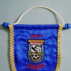 Collectionnisme sportif: BANDERIN A. D. C. R. LEMAN'S - LEGANES (MADRID). Lote 204820648