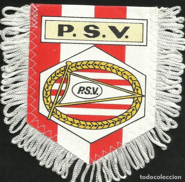 ANTIGUO BANDERIN DEL CLUB DE FUTBOL P.S.V EINDHOVEN DE HOLANDA (Coleccionismo Deportivo - Banderas y Banderines de Fútbol)