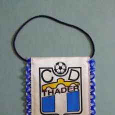 Collectionnisme sportif: BANDERIN C. D. THADER - ROJALES (ALICANTE). Lote 205049251