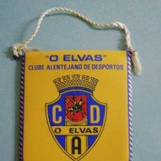 Coleccionismo deportivo: BANDERIN O ELVAS C. A. D. DE PORTUGAL. Lote 219295152