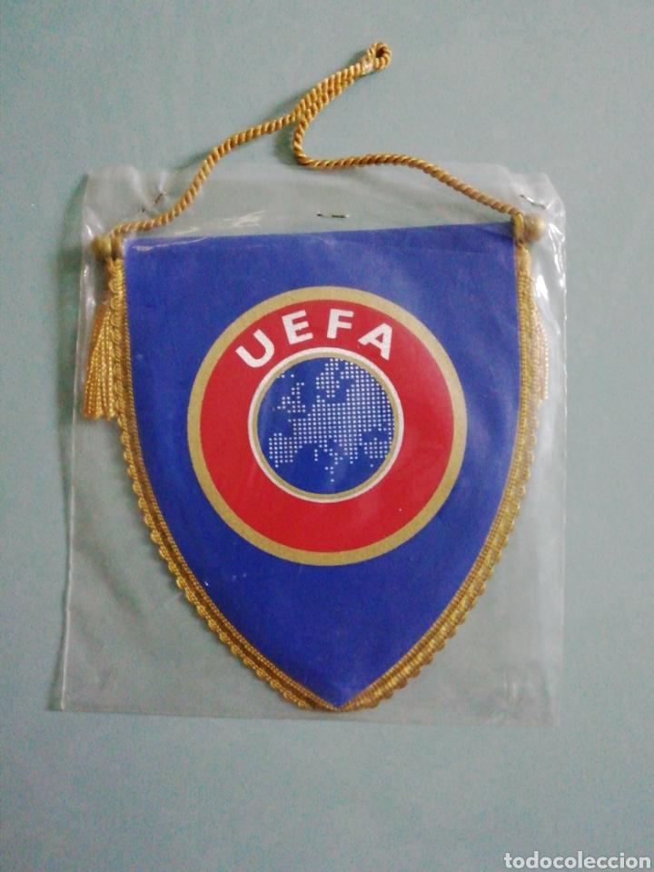 BANDERIN UEFA (Coleccionismo Deportivo - Banderas y Banderines de Fútbol)