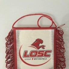 Coleccionismo deportivo: BANDERÍN LILLE METROPOLE LOSC. Lote 205534563