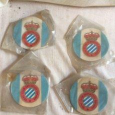 Coleccionismo deportivo: LOTE 4 COLGADORES REAL CLUB DEPORTIVO ESPAÑOL!. Lote 205603825