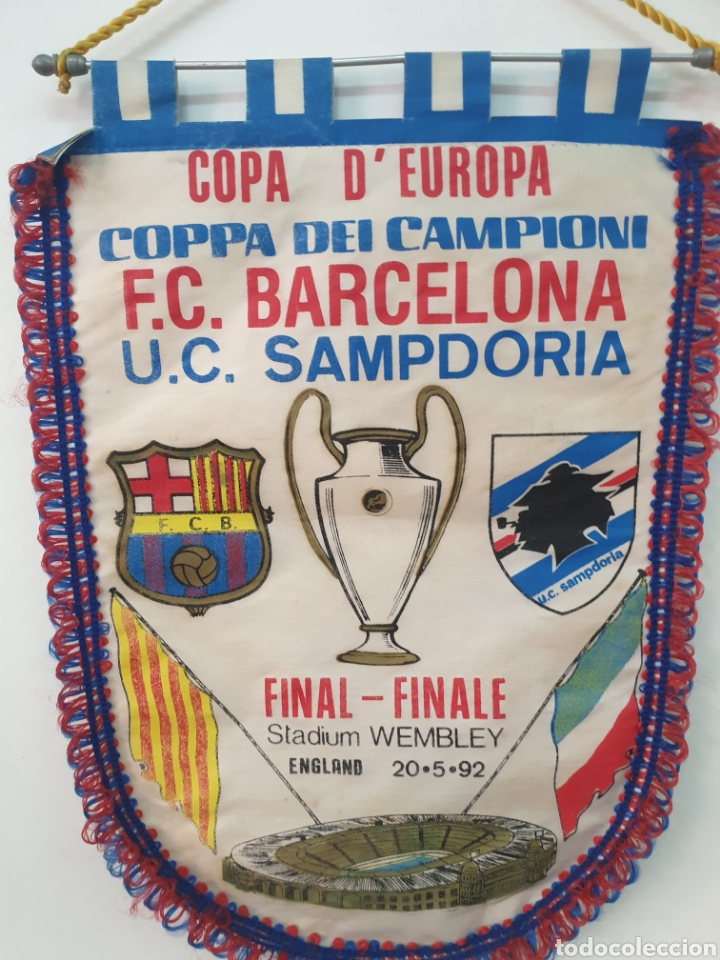 Coleccionismo deportivo: FINAL COPA DE EUROPA 92 WENBLEY STADIUM - Foto 6 - 205648661