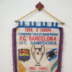 Coleccionismo deportivo: FINAL COPA DE EUROPA 92 WENBLEY STADIUM. Lote 205648661