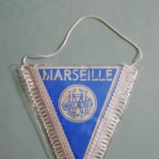 Collezionismo sportivo: BANDERIN OLYMPIQUE DE MARSEILLE DE FRANCIA. Lote 205725970