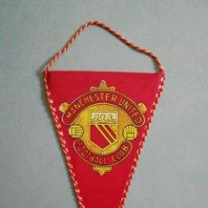 Coleccionismo deportivo: BANDERIN MANCHESTER UNITED F. C. DE INGLATERRA. Lote 206260672