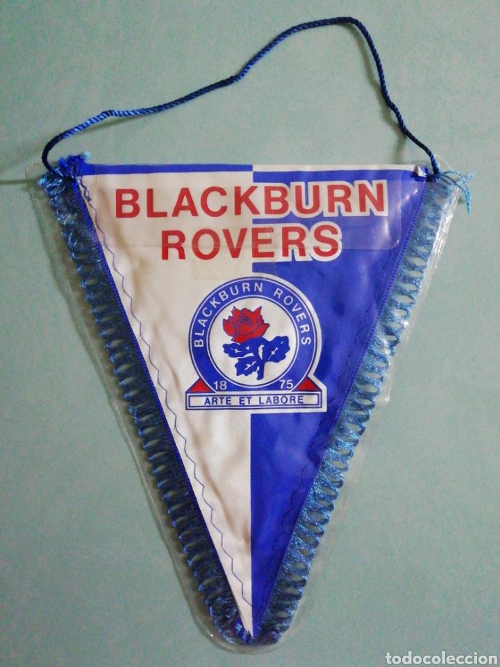 BANDERIN BLACKBURN ROVERS F. C. DE INGLATERRA (Coleccionismo Deportivo - Banderas y Banderines de Fútbol)