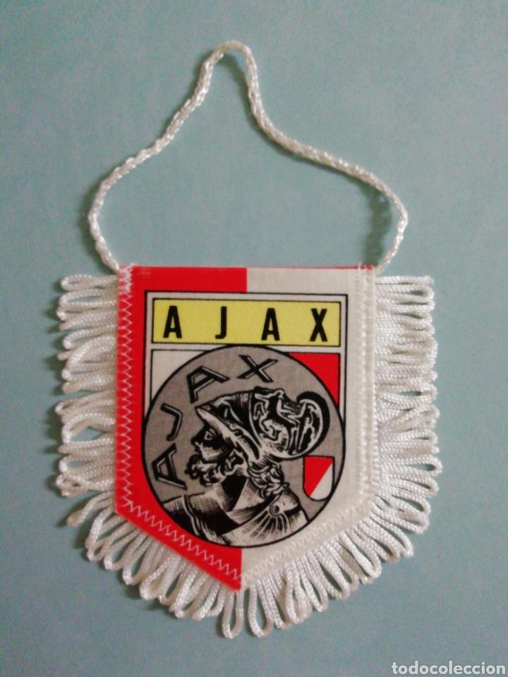 BANDERIN AJAX AMSTERDAM DE HOLANDA (Coleccionismo Deportivo - Banderas y Banderines de Fútbol)