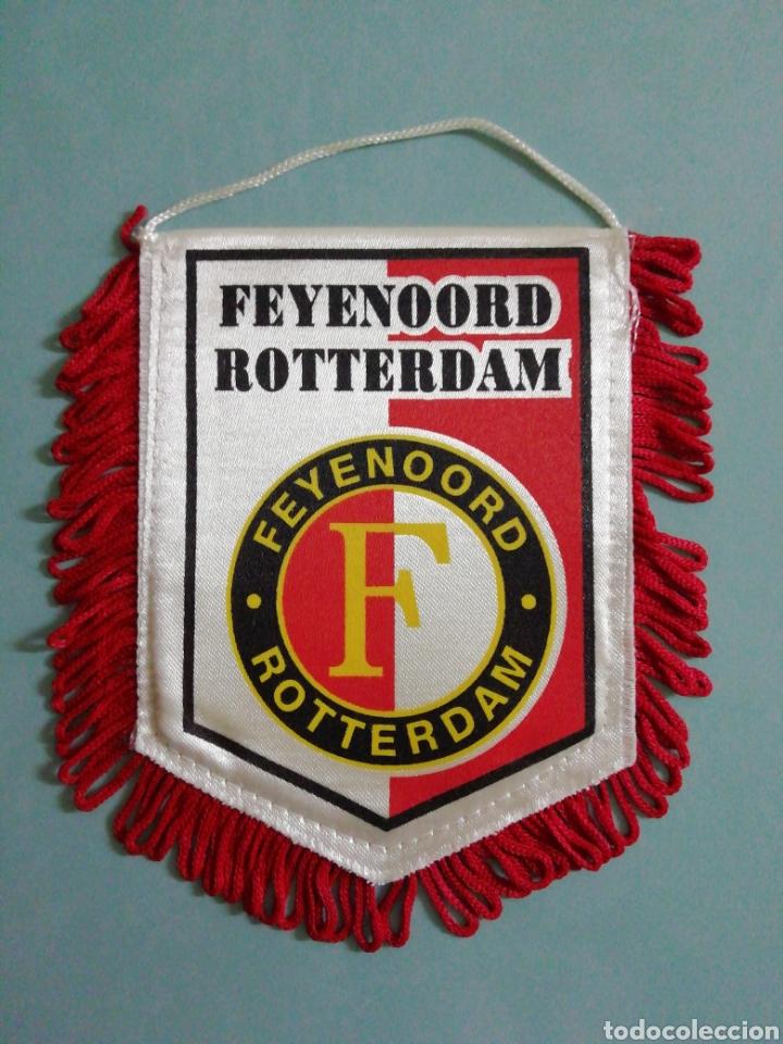 BANDERIN FEYENOORD ROTTERDAM DE HOLANDA (Coleccionismo Deportivo - Banderas y Banderines de Fútbol)