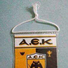 Coleccionismo deportivo: BANDERIN AEK F C. DE GRECIA. Lote 206267372