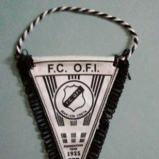 Coleccionismo deportivo: BANDERIN F. C. OFI DE GRECIA. Lote 206270483