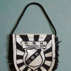 Coleccionismo deportivo: BANDERIN F. C. OFI DE GRECIA. Lote 206270657