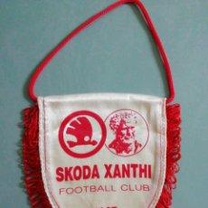Collezionismo sportivo: BANDERIN SKODA XANTHI F. C. DE GRECIA. Lote 206274393