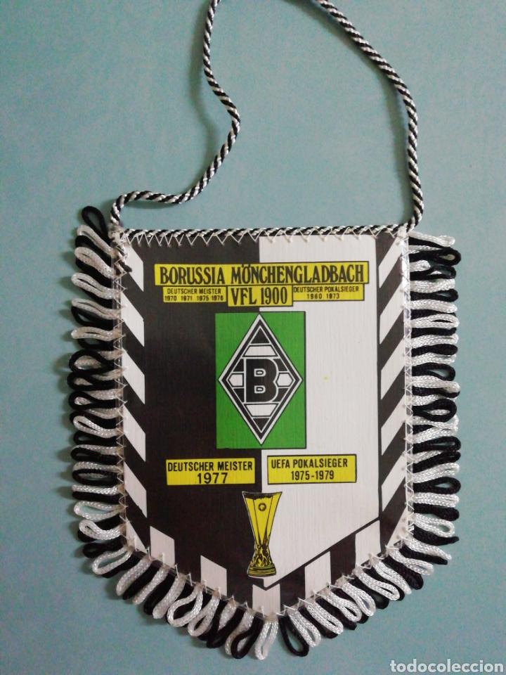 BANDERIN BORUSSIA MONCHENGLADBACH DE ALEMANIA (Coleccionismo Deportivo - Banderas y Banderines de Fútbol)