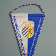Collectionnisme sportif: BANDERIN F. C. CARL ZEISS JENA DE ALEMANIA. Lote 206369827