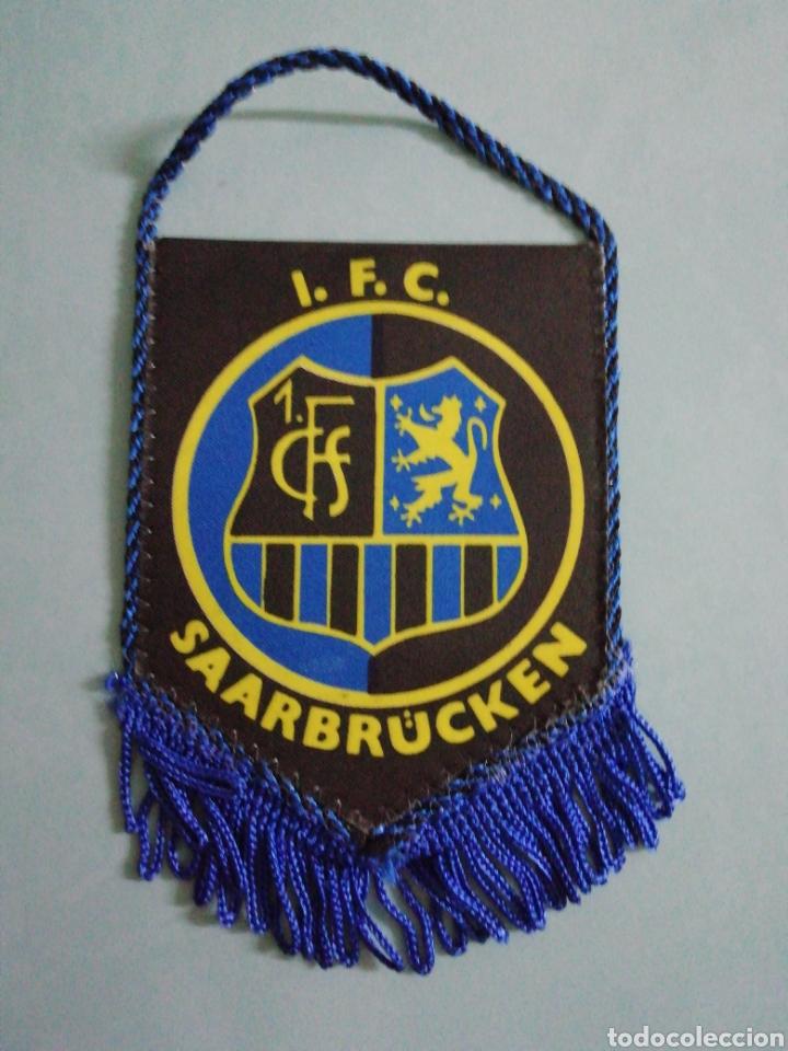 BANDERIN 1. F. C. SAARBRUCKEN DE ALEMANIA (Coleccionismo Deportivo - Banderas y Banderines de Fútbol)