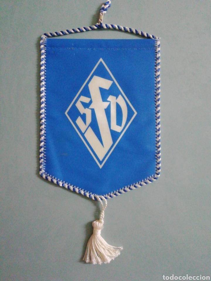 Coleccionismo deportivo: Banderin SAARLANDISCHER Fussball Verband e. V. de Alemania - Foto 2 - 206379666