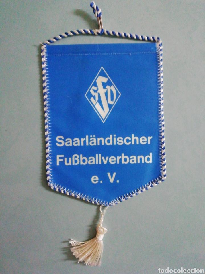 BANDERIN SAARLANDISCHER FUSSBALL VERBAND E. V. DE ALEMANIA (Coleccionismo Deportivo - Banderas y Banderines de Fútbol)