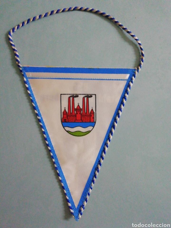 Coleccionismo deportivo: Banderin BSG STAHL BRANDENBURG de Alemania - Foto 2 - 206380833