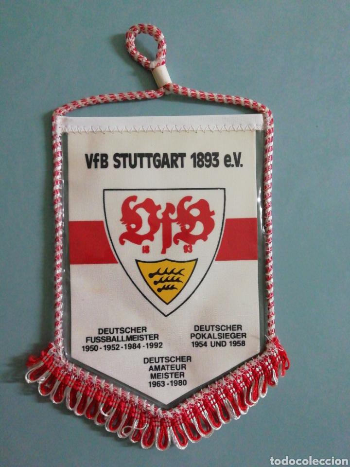 BANDERIN VFB STUTTGART 1893 E. V. DE ALEMANIA (Coleccionismo Deportivo - Banderas y Banderines de Fútbol)