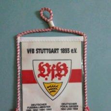 Collectionnisme sportif: BANDERIN VFB STUTTGART 1893 E. V. DE ALEMANIA. Lote 206381202