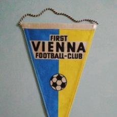 Collezionismo sportivo: BANDERIN FIRST VIENNA F. C. DE AUSTRIA. Lote 206390535