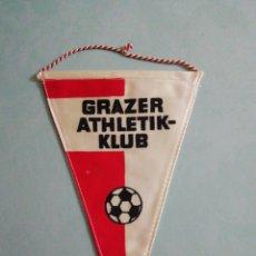 Colecionismo desportivo: BANDERIN GRAZER ATHLETIK KLUB DE AUSTRIA. Lote 206390726