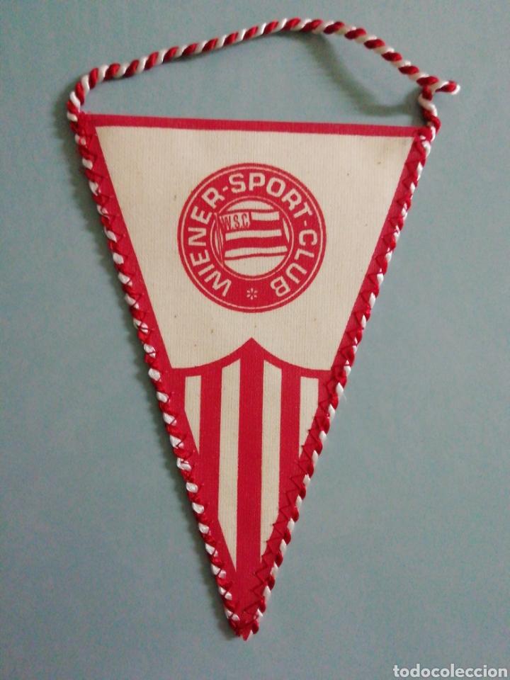 BANDERIN WIENER SPORT CLUB DE AUSTRIA (Coleccionismo Deportivo - Banderas y Banderines de Fútbol)