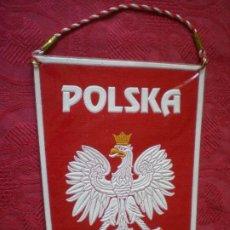 Coleccionismo deportivo: BANDERÍN POLSKA, POLONIA. 17 CM.. Lote 206518361