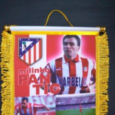 Collectionnisme sportif: BANDERIN ATLETICO DE MADRID PANTIC. Lote 86396392