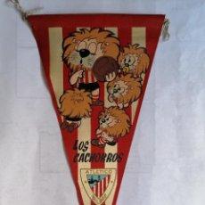 Coleccionismo deportivo: BANDERIN LOS CACHORROS, ATLETICO BILBAO. Lote 207119136