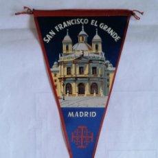 Coleccionismo deportivo: BANDERIN SAN FRANCISCO EL GRANDE - MADRID. Lote 207203023