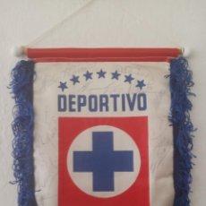 Collectionnisme sportif: BANDERÍN FIRMADO DEPORTIVO CRUZ AZUL (MÉXICO). Lote 208289538
