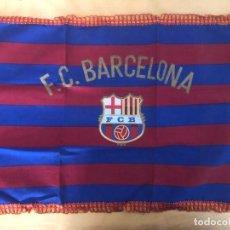 Collectionnisme sportif: TELA CON GRABADO ESCUDO FC. BARCELONA ( 57 X 41CM). Lote 233160445