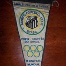 Coleccionismo deportivo: ANTIGUO BANDERÍN DEL CLUB SANTOS DE BRASIL. Lote 210068676