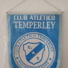 Coleccionismo deportivo: BANDERÍN CLUB ATLÉTICO TEMPERLEY (ARGENTINA). Lote 210148691