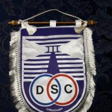 Coleccionismo deportivo: BANDERÍN OFICIAL DE DEFENSOR SPORTING CLUB (URUGUAY) DE INTERCAMBIO DE CAPITÁN. Lote 210149831