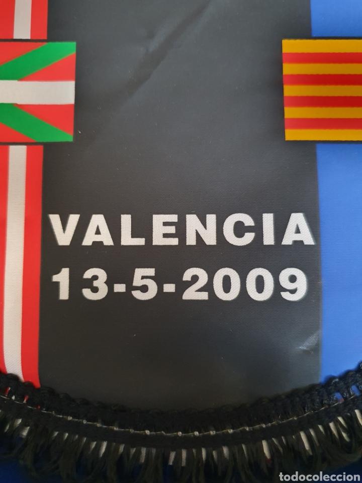Coleccionismo deportivo: BANDERIN FINAL DE COPA ATHLETIC- BARCELONA 09 - Foto 2 - 210753180